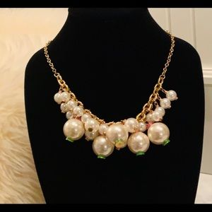 Lilly Pulitzer Goodie Pearl Statement Necklace